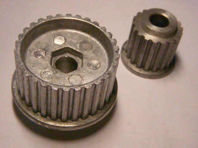 Заводской комплект шкивов 48*28 для электрорубанка Rebir 5708