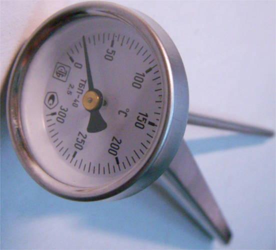 Профессиональный термометр до 300°C для продуктов