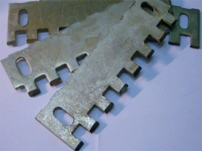 Четыре стальных ножа 93*124 для диска корморезки