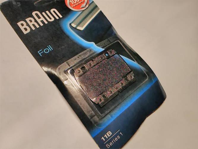 Сетка стригущего блока электробритвы Braun 11B (100 / 130 / 150 / 180)