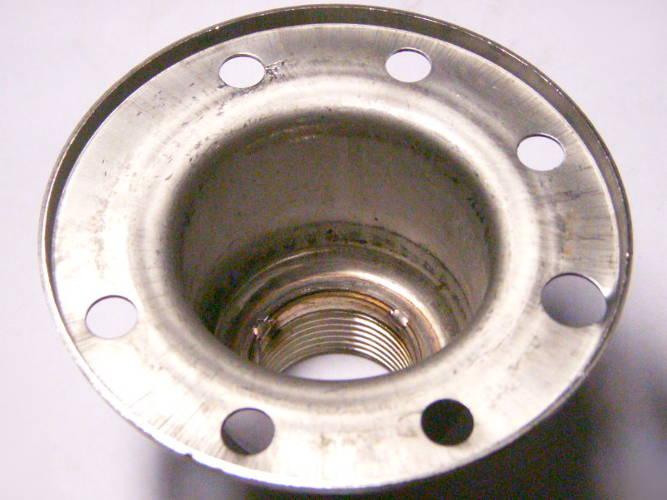 Верхняя крышка флянец погружного насоса Euroaqua, Sprut QGD/SKM