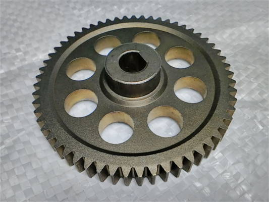 Металлическая шестерня d10*75 z57 h20 на цепную электропилу
