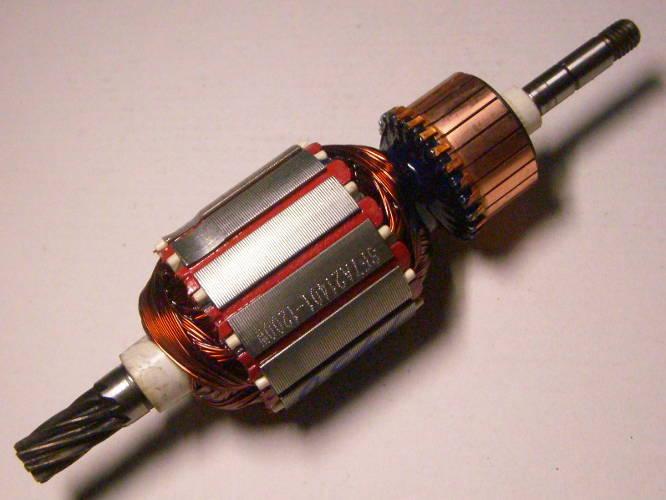 Якорь двигателя электрокосы Зенит Зтс-1450