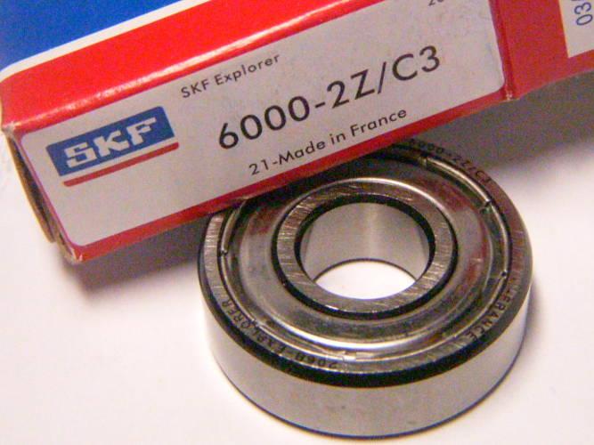 Высококачественный подшипник SKF 6000-2Z/C3 для электроинструмента