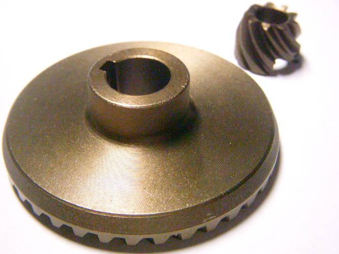 Зубчатая пара шестерней редуктора болгарки Einhell BWS 230, Темп 2100-230