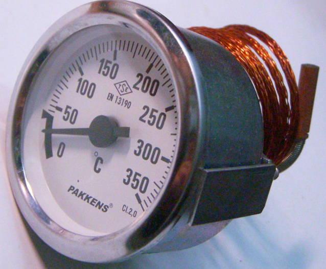 Термометр для печей до 350ºC с метровым датчиком