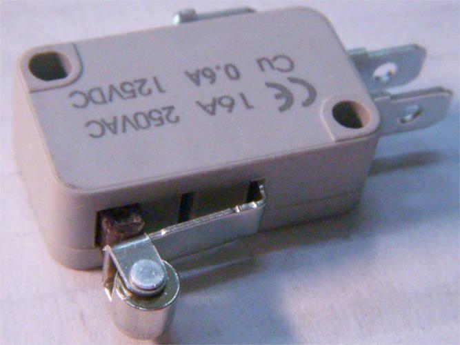 Микровыключатель электроприборов до 16 Ампер