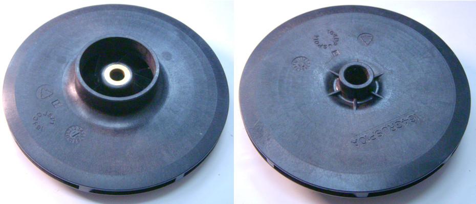 Оригинальное рабочее колесо 43*121*8 насоса Pedrollo 0,6 кВт