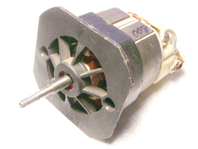 Нижний двигатель электротриммера Бригадир