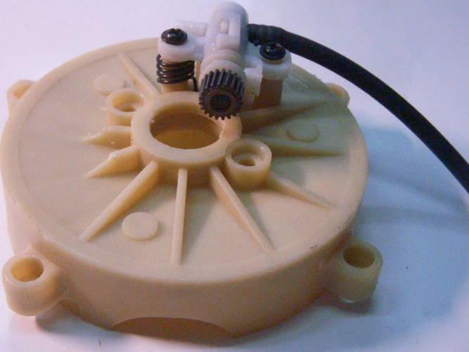 Маслонасос в сборе с чашкой шестерни электропилы Craft, Craft-Tec, Intertool