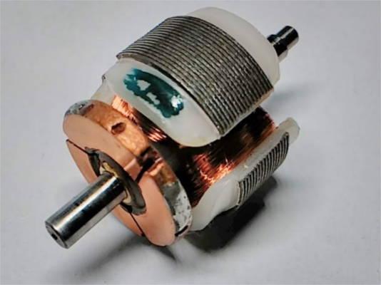 Якорь двигателя электробритвы Агидель
