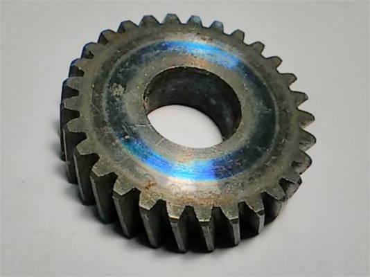 Косозубая шестерня болгарки 33x12 мм, высотой 9 мм, 29 зубов