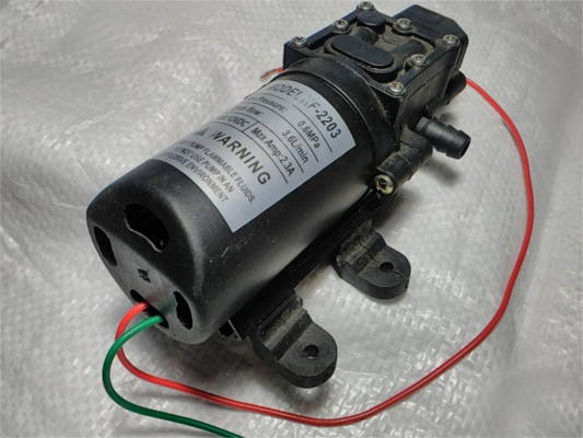 Насос KF-2203 для аккумуляторного опрыскивателя Sadko, Forte