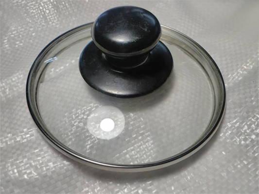 Крышка стеклянная 137 мм для кастрюль и сковородок