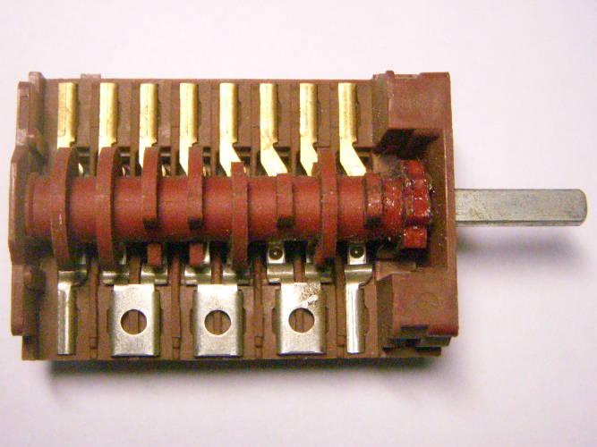Переключатель регулятор электроплиты Mora на 8 контактов
