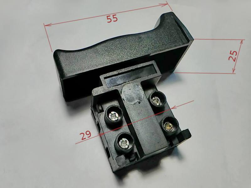 Кнопка HS HLT-10A с клавишей 22*55 без фиксатора