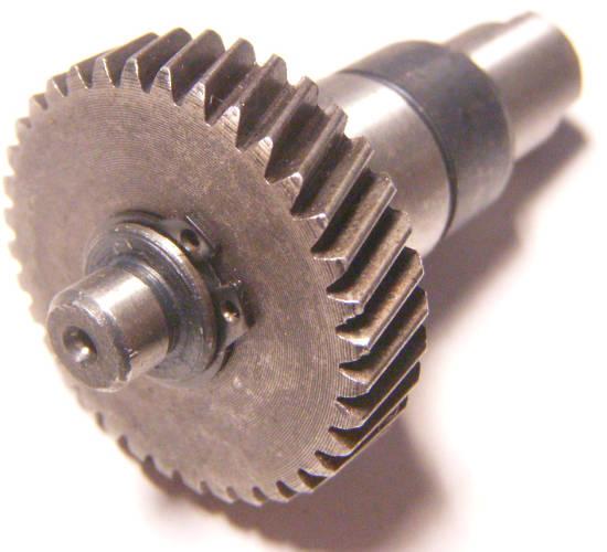 Шестерня с валом для дисковой переворотной электропилы ТЕМП ПД-2150