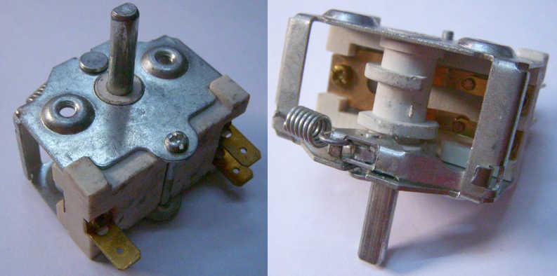 Переключатель JSR-03A-1 для электроплиты на трех контактах