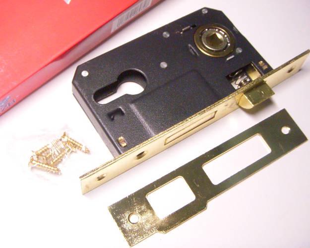 Блок механизма врезного замка размером 113*65*14 мм