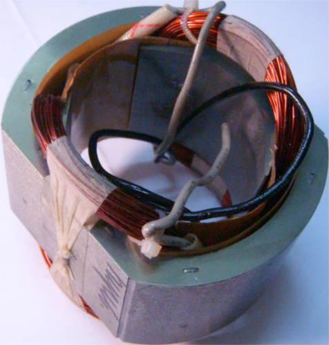 Статор 47x90 мм под якорь ∅54 мм переворотной электропилы Арсенал, Craft-Tec, Wintech