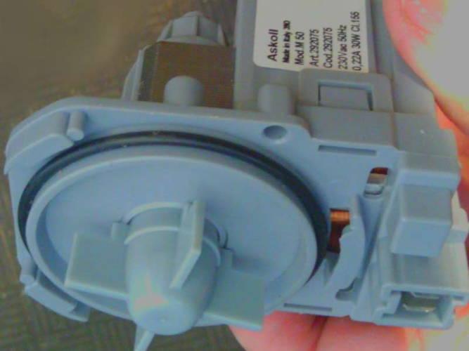 Насос стиральной машины Bosch на трех защелках