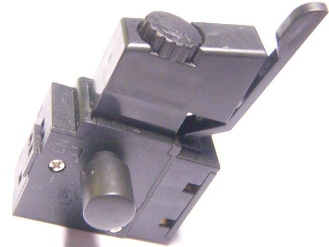 Кнопка на 6 Ампер для электродрели Stern, Topex