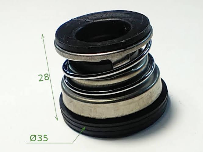 Торцевое уплотнение вал 17 мм насосной станции QB60, TAIFU JET150