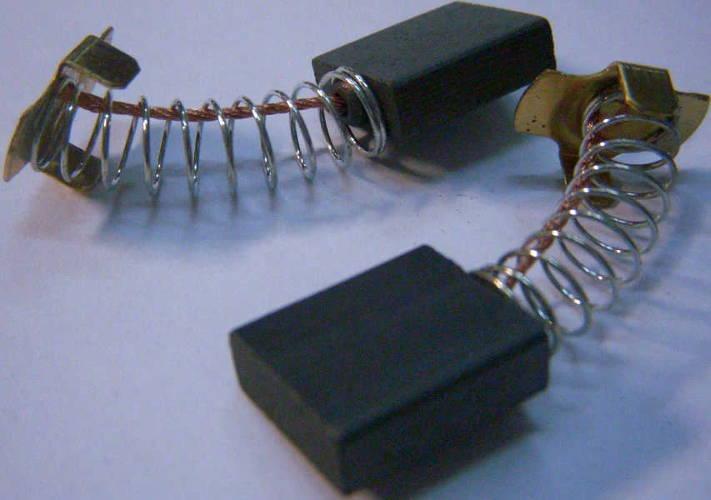 Щетки 6*16*17 коллектора цепной электропилы, электрокосы