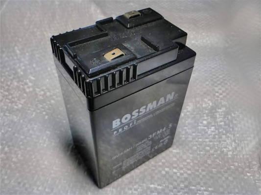 Качественный аккумулятор Bossman 6V 4.5Ah/20HR размером 99*69*46