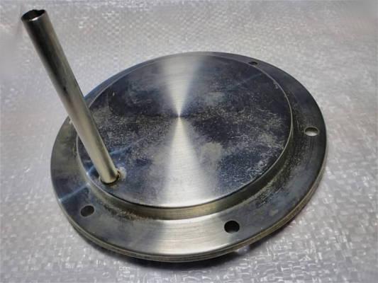 Электротэн керамического чайника 1.5 кВт диаметром 143 мм на 6 болтов с трубкой