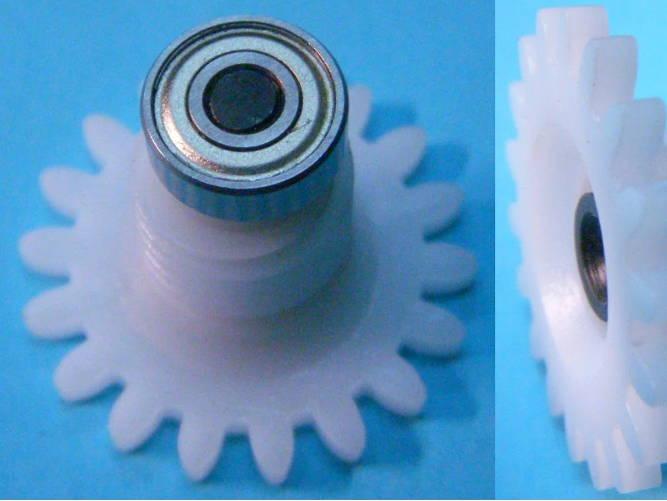 """Шестерня """"ромашка"""" привода маслонасоса цепной электропилы Craft-Tec, Eurotec GC 222"""
