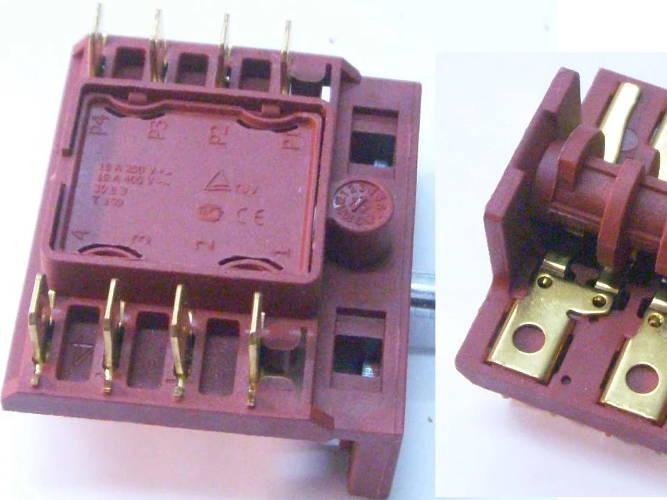 Пятипозиционный переключатель электроплиты Элна 010, Элна-020