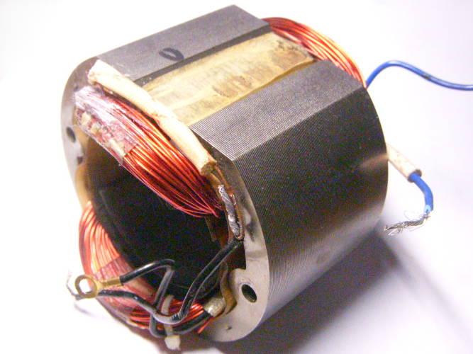 Статор L51x90xd53 для дисковой пилы Vorskla ПМЗ 2200С и электрокосы