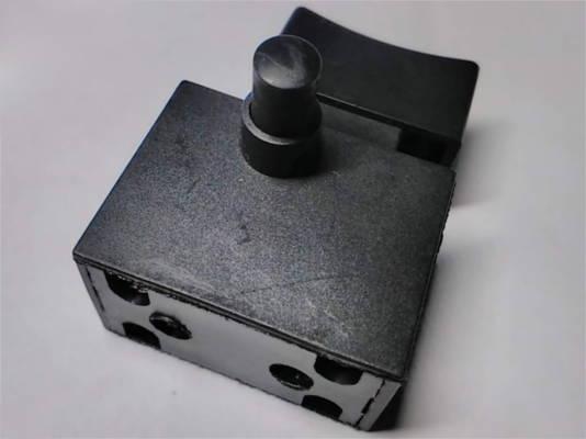 Кнопка с фиксатором FA2-6/2B 12A для болгарки ТехАС ТА-01-423