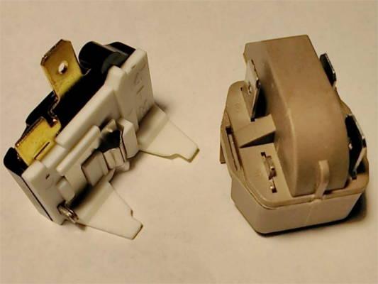 Пусковое защитное реле холодильника Samsung RT-34, SR-L3616B
