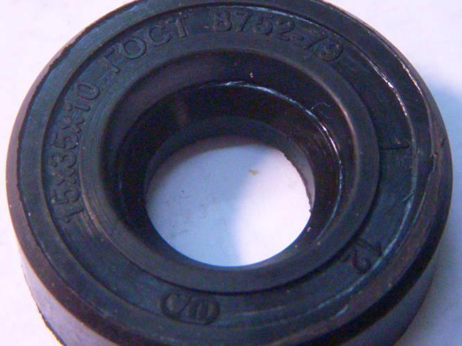 Резиновый однобортный сальник 35x15x10 для насоса БЦН 1,1