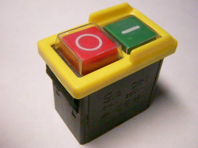 Кнопка включения CK-1 6A для плиткореза, металлореза 4 клеммы