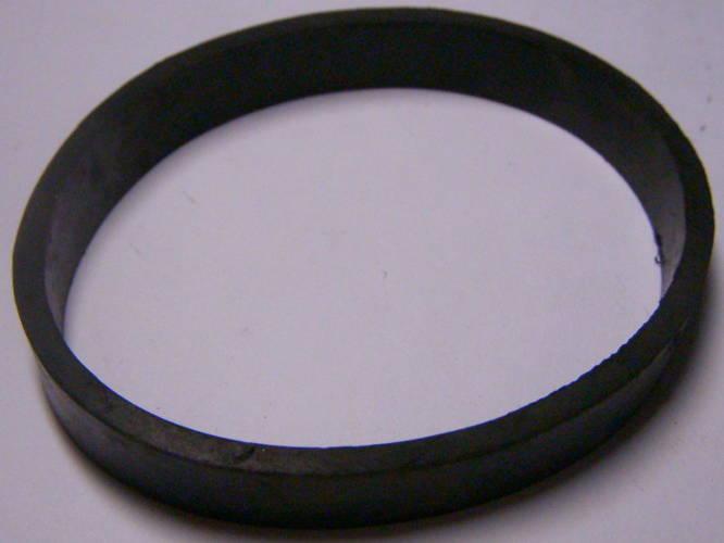 Растягивающийся гладкий резиновый ремень 227*10.5 мм