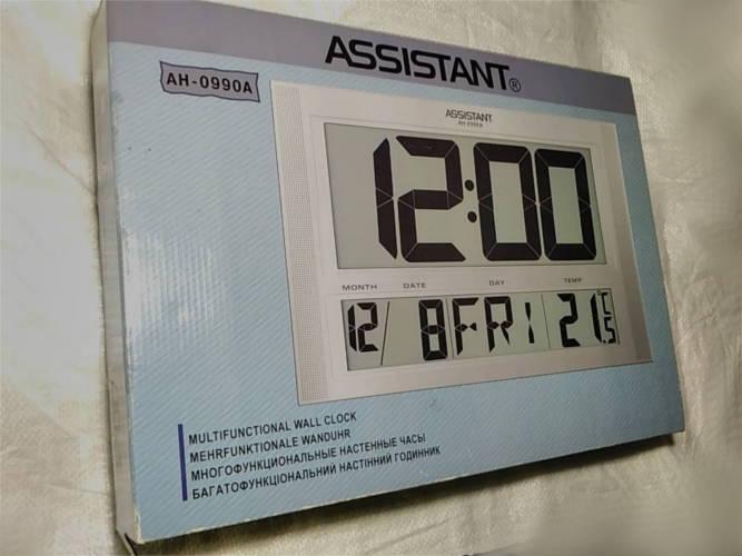 Настенные часы Assistant AH-0990