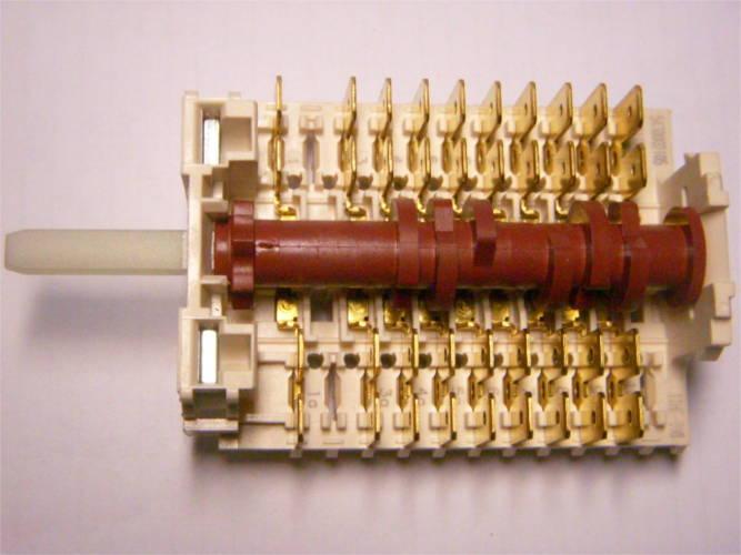 10-контактный 7-ми позиционный переключатель dreefs 5430002105 электроплиты