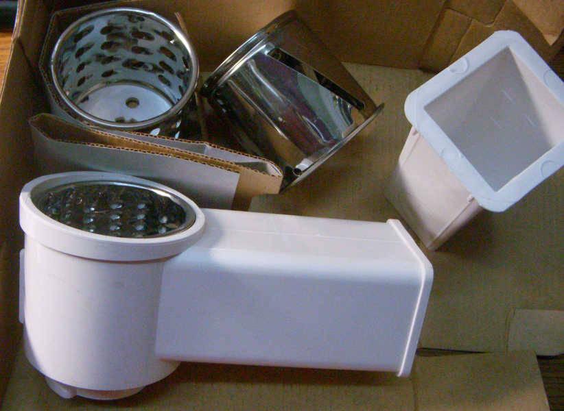 Насадка овощерезки кухонного комбайна Ротор Дива