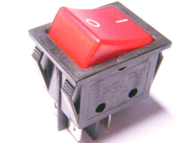 Кнопка клавиша включения нагрузки до 25 ампер на 4 контакта
