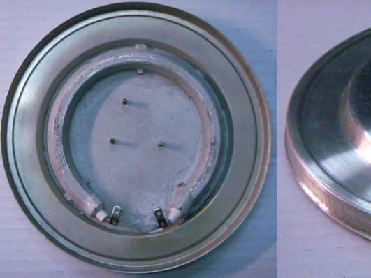 Дисковый нагревательный тэн чайника 160 мм с бортом