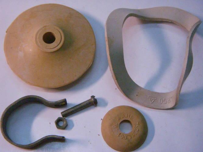 Ремкомплект с хомутом и крепежом для вибрационного насоса