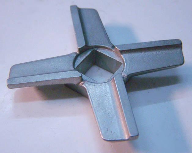 Нержавеющий нож 55*10 для электромясорубки Redmond, Vitek VT-1671, Bork, Zelmer, Cameron