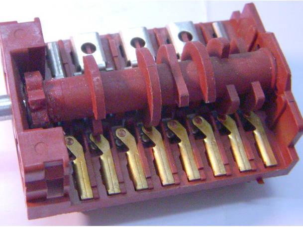 Переключатель регулятор электроплиты на 8 контактов