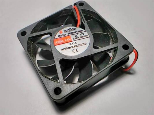 Вентилятор axial fan 60*60*15 DC 12V