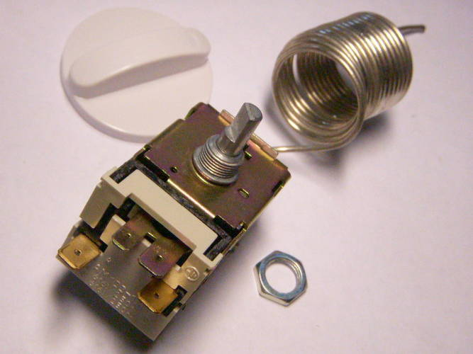 Терморегулятор ТАМ-133 для 2-камерного холодильника Днепр, Атлант, Indesit