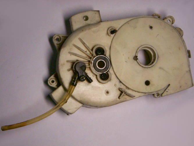 Корпус редуктора цепной электропилы