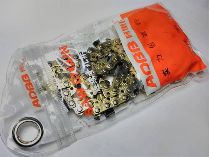 Анодированная цепь 0.325 0.58 на 72 зуба для цепной бензо электропилы